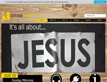 Tablet Preview of crossroadsoc.org